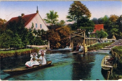 Spreewald, Forsthaus Kanno-Mühle-Schleuse
