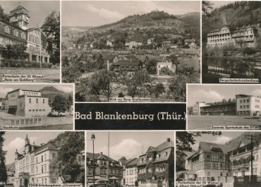 Ak Bad Blankenburg