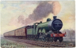 Ak, G.N.R. Flying Scotsman, Eisenbahn
